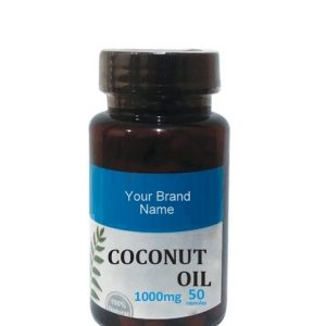 Coconut Oil Capsules For The Immune System Natural Private Label | Wholesale
