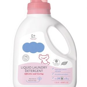 Effective And Caring Liquid Laundry Detergent 0+ Months With Herbal Extracts Baby Skin Care Dermatologically Tested