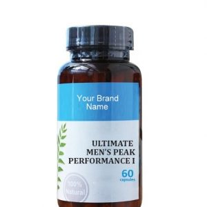 Ultimate Men's Peak Performance I Natural Private Label | Wholesale | Bulk