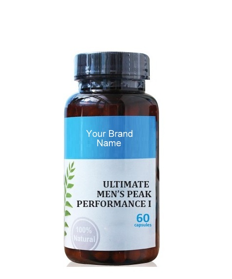 Ultimate Men's Peak Performance I Natural Private Label   Wholesale   Bulk