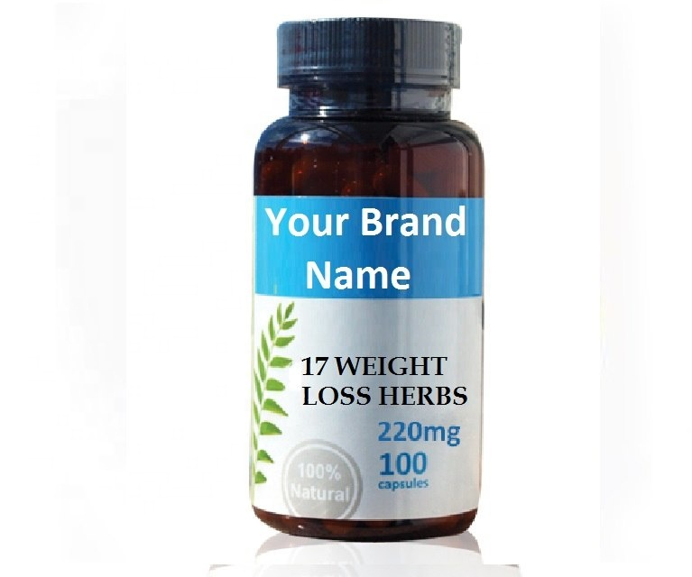 17 Weight Loss Herbs Food Supplement Natural Private Label