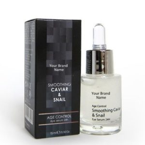 24H Eye Serum With Caviar And Snail Extracts 100 % Natural Product Private Label | Wholesale | Bulk Made In EU