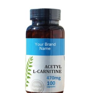 Acetyl L-Carnitine Extract Food Supplement Natural Private Label | Wholesale