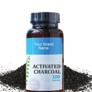 Activated Charcoal Food Supplement Natural Private Label | Wholesale