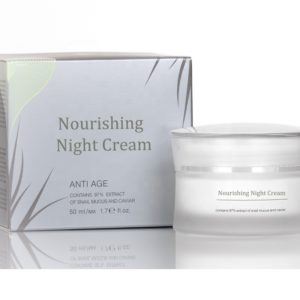 Active Nourishing Night Cream With Snail Caviar And Mucus Concentrate Private Label Available | Wholesale | White Label