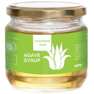 Agave Syrup / Nectar Vegan And Gluten Free Natural Sweetener Certified Organic | Private Label | Bulk