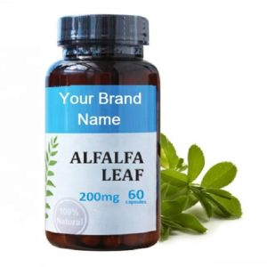 Alfalfa Leaf Natural Private Label | Wholesale