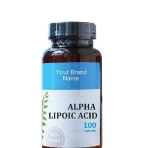 Alpha Lipoic Acid Food Supplement Natural Private Label | Wholesale