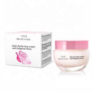 Anti-Acne Face Cream With Bulgarian Rose Private Label | Wholesale | Bulk | White Label