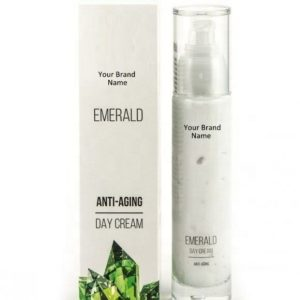 Anti-Aging Emerald Day Face Cream 100% Natural Product Private Label | Wholesale | Bulk Made In EU