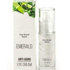 Anti-Aging Emerald Eye Cream 100% Natural Product Private Label | Wholesale | Bulk Made In EU