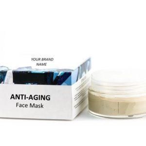 Anti-Aging Emerald Face Mask 100 % Natural. Private Label | Wholesale | Bulk Made In EU