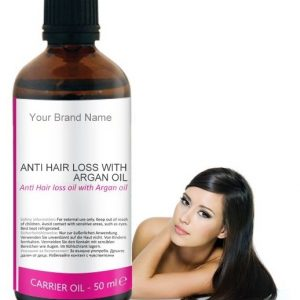 Anti Hair Loss With Argan Carrier Oil 100% Natural Product Private Label | Wholesale