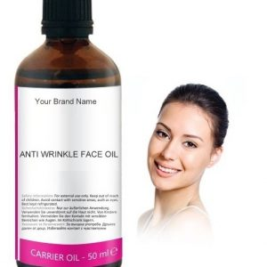 Anti Wrinkles Face Carrier Oil 100% Natural Product Private Label | Wholesale