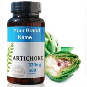 Artichoke Food Supplement Natural Private Label | Wholesale