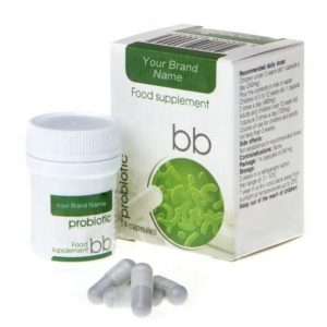 BB Probiotic Food Supplement 100% Natural Product Private Label | Wholesale | Bulk Made in EU