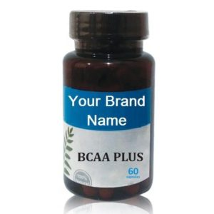 BCAA Plus Capsules For Muscle Growth Natural Private Label | Wholesale