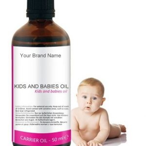 Baby Carrier Oil 100% Natural Product Private Label | Wholesale