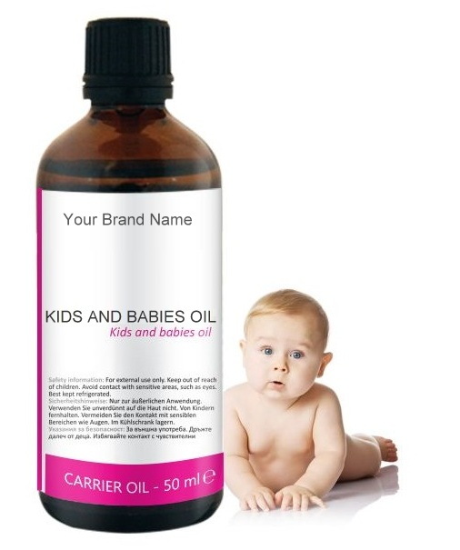 Baby Carrier Oil 100% Natural Product Private Label