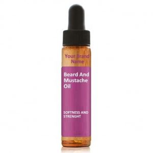 Beard And Mustache Oil For Softness and Strength Natural Product Private Label | Wholesale