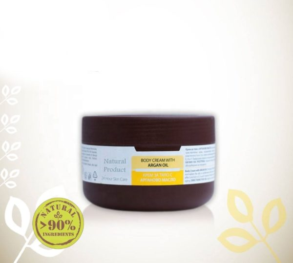 Body Cream With Argan Essential Oil For Dry And Sensitive Skin Natural Cosmetic Products | Wholesale