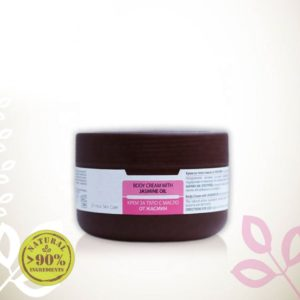 Body Cream With Jasmine Essential Oil For Sensitive Skin Natural Cosmetic Products | Wholesale