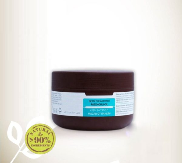 Body Cream With Patchouli Essential Oil With Anti-Cellulite Effect Natural Cosmetic Products | Wholesale