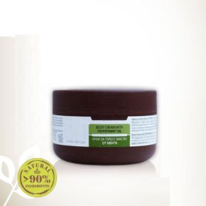 Body Cream With Peppermint Essential Oil For All Skin Types Natural Cosmetic Products | Wholesale