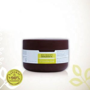 Body Cream With Sandalwood Essential Oil For Problem Skin Natural Cosmetic Products   Wholesale