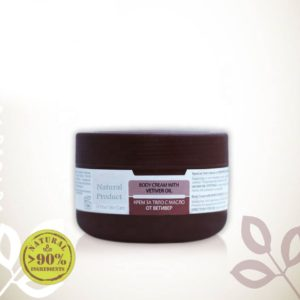 Body Cream With Vetiver Essential Oil For All Skin Types Natural Cosmetic Products   Wholesale