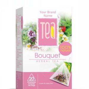 Bouquet Tea Natural Product Private Label | Wholesale | Bulk Made in EU