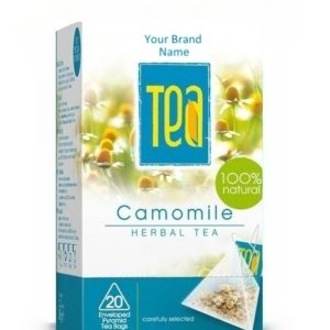 Camomile Tea Natural Product Private Label | Wholesale | Bulk Made in EU