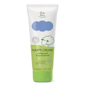Caring And Easy-To-Spread Baby Nappy Cream 0+ Months With Herbal Extracts Baby Skin Care Dermatologically Tested