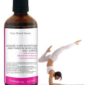 Carrier Oil For Pain In Muscles And Joints 100% Natural Product Private Label | Wholesale