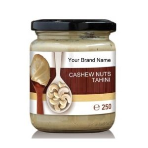 Cashew Tahini Natural Product Organic Private Label | Wholesale