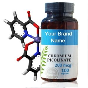 Chromium Picolinate Food Supplement Natural Private Label | Wholesale