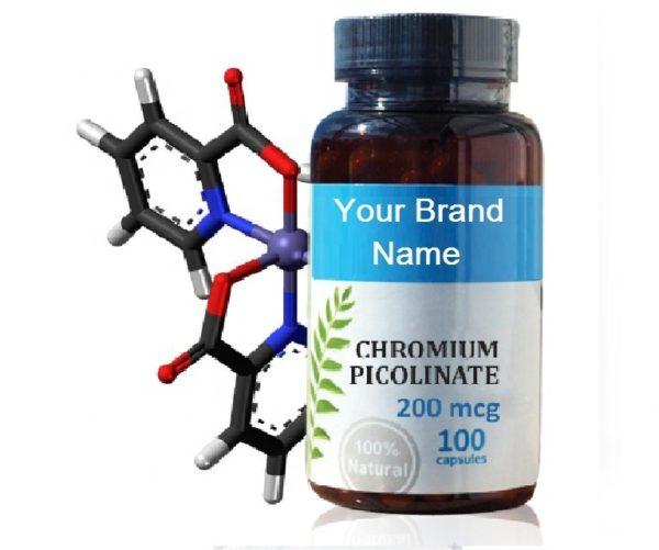Chromium Picolinate Food Supplement Natural Private Label | Wholesale