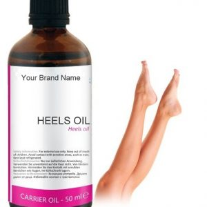 Cracked Heels Carrier Oil 100% Natural Product Private Label | Wholesale