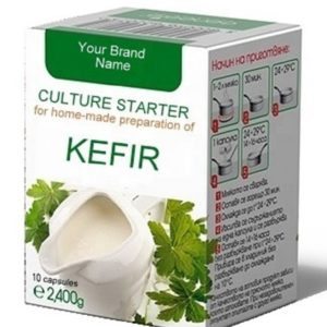 Culture Starter Capsules For Home-made Kefir 100% Natural Product Private Label | Wholesale | Bulk Made in EU