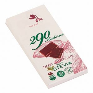 Dark Chocolate With Stevia - 80 g. Suitable For Diabetics Private Label | Wholesale | Bulk | Made In EU