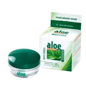 Day Face Cream Aloe Vera For Normal And Dry Skin Paraben Free Private Label Available | Wholesale | White Label