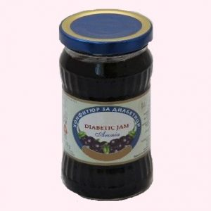 Diabetic Jam From Aronia - 340 g. Private Label | Wholesale | Bulk | Made In EU