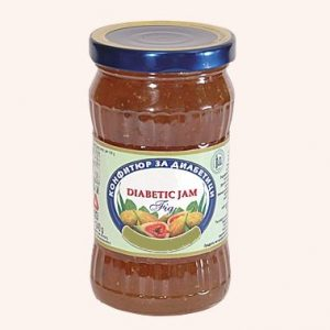 Diabetic Jam From Fig - 340 g. Private Label | Wholesale | Bulk | Made In EU