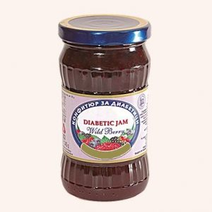 Diabetic Jam From Wild Berry - 340 g. Private Label | Wholesale | Bulk | Made In EU