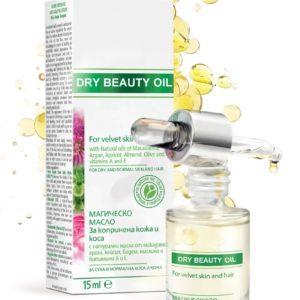 Dry Beauty Oil For Velvet Skin And Hair