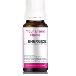 Energize Essential Oils Blend 100% Natural Product Private Label | Wholesale