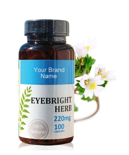 Eyebright Herb Food Supplement Natural Private Label