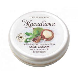 Face Cream Macadamia Oil Paraben Free Private Label Available | Wholesale | White Label