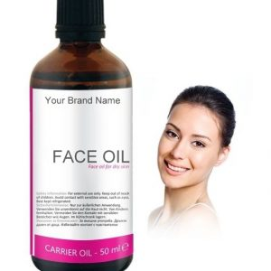 Face Oil For Dry Skin Carrier Oil 100% Natural Product Private Label | Wholesale