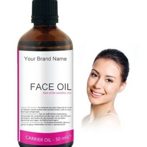 Face Oil For Sensitive Skin Carrier Oil 100% Natural Product Private Label | Wholesale
